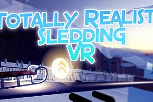 steamPC VR游戏《逼真的雪橇VR》Totally Realistic Sledding VR 游戏下载