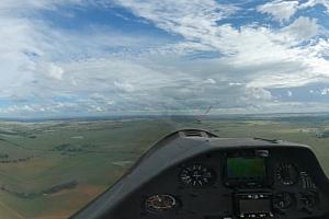 360°全景VR视频:滑翔机飞越南非天空俯视大草原VR视频下载【上下格式】