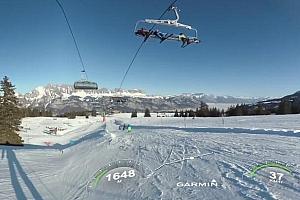 360°VR全景视频:环球雪地滑雪—360°Flumserberg VR视频下载【上下格式】