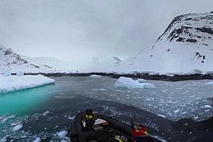 360°全景VR视频:南极洲-意外降雪_国家地理VR视频高清下载【上下格式】