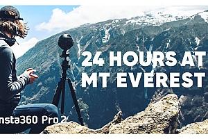24小时在Basecamp -珠穆朗玛峰8K 360度VR全景视频下载【上下格式】