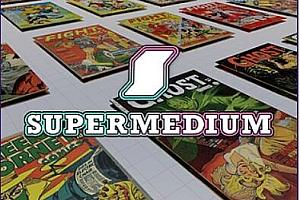Oculus Quest 应用《漫画书阅读器VR版》Supermedium:The VR Comic Book Reader VR 免费下载