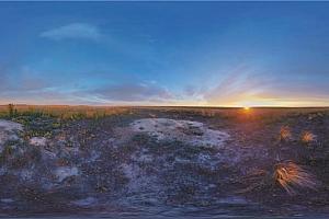 360°全景VR视频:奥伦堡自然保护区风景 VR视频下载 (2021)