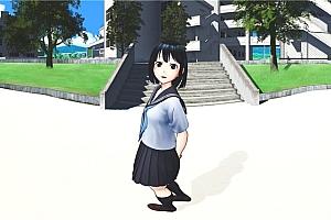 360°VR动漫视频《夏をやりなおす VR》重温夏日VR 全景动漫视频免费下载