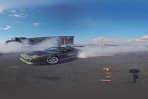 全景360°VR视频极:限运动汽车跑车漂移运动 VR全景视频免费下载