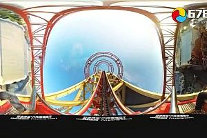 360°全景VR视频:《好莱坞过山车》百米惊魂,尖叫不停 VR全景3D360°视频