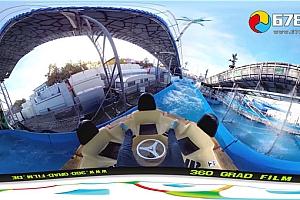 360°全景VR视频:《水上乐园极限漂流》4K3D全景360°VR视频免费下载