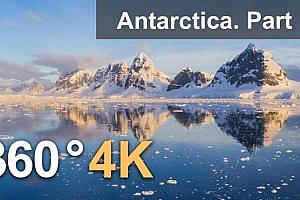 360°全景VR视频:南极洲考察风景 (2021) 3DVR视频免费下载