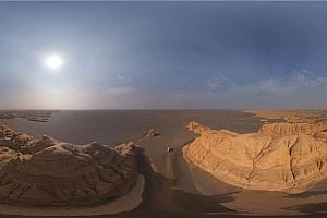 360°全景VR视频:《中国敦煌雅当国家地质公园》空中360视频下载 (2021)