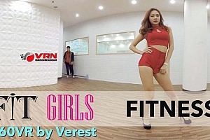 360°全景VR视频:《韩国美女热舞》4K福利VR视频 适合女孩的健身舞 (2021)