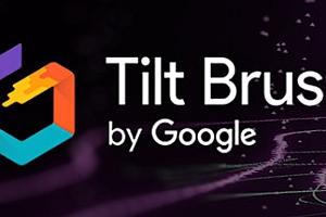 Oculus Quest 游戏《倾斜的刷子/谷歌绘画VR》Tilt Brush VR画画绘画游戏下载