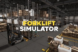 Oculus Quest 游戏《模拟叉车驾驶VR》Chalkbites Forklift Simulator VR游戏破解版下载