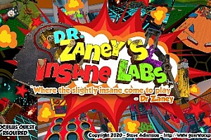 Oculus Quest 游戏《疯狂实验室VR》Dr Zaney's Insane Labs VR游戏破解版下载