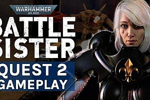 Oculus Quest 游戏《战锤 40K:战甲VR》Warhammer 40,000:Battle Sister VR游戏破解版下载