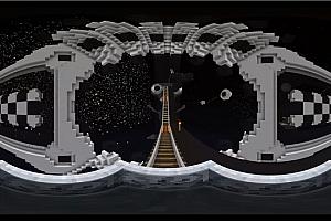 360°VR全景视频: 《山洞矿车过山车》4K Minecraft 我的世界  VR视频下载