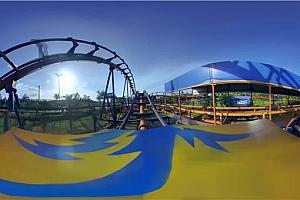 360°全景VR视频:《游乐场过山车》4K极限运动过山车VR3D全景视频下载