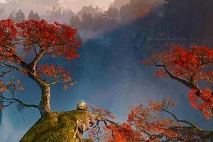 Oculus Quest虚拟主题: 中国风枫叶+阿拉丁SNES+仿SteamVR大厅主题