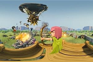 360°VR全景视频:部落冲突游戏VR全景360°视频免费下载