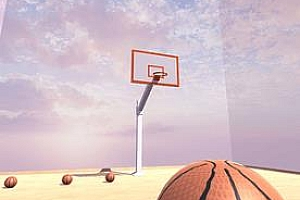 Oculus Quest 游戏《VR投篮》KOTC VR Basketball 练习投篮篮球VR游戏下载