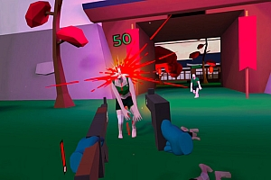 Oculus Quest 游戏《僵尸世界》Zombie World VR 打僵尸VR游戏下载