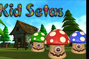 Oculus Quest游戏《打蘑菇》VR kid setas 儿童射击小游戏VR游戏下载