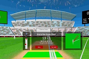 Oculus Quest 游戏《板球模拟器VR》Cover Drive Cricket VR游戏下载