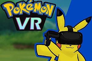 Oculus Quest 游戏《精灵宝可梦VR/神奇宝贝VR》Pokémon VR quest游戏下载