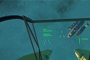 Oculus Go游戏《全真实空间作战模拟器VR》Totally Realistic Space Combat Simulator VR