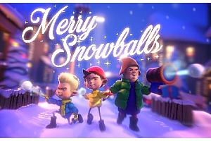 Oculus Quest 游戏《快乐雪球VR》Merry Snowballs VR儿童游戏下载