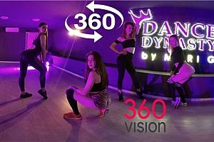 360°VR全景视频:热舞系列 一群欧美美女热舞4K超清
