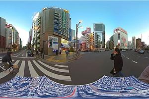 360°VR全景视频:《在日本秋叶原散步》4K超清