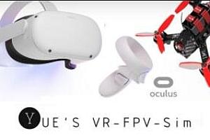 Oculus Quest 游戏《FPV无人机模拟器VR》Yue's VR FPV Drone Simulator VR