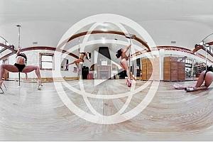 360°全景VR视频:《第一视角钢管舞》4K全景360°视频下载
