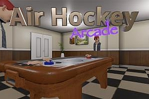 Oculus Quest 游戏《曲棍球VR》Air Hockey Arcade VR