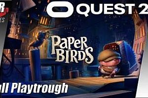 Oculus Quest 动画《纸鹤》Paper Birds: Part I & II