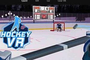 Oculus Quest 游戏《曲棍球VR》Hockey VR