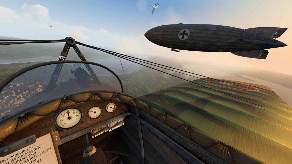 Oculus Quest 游戏《Warplanes: WW1 Fighters》战机大战插图(1)