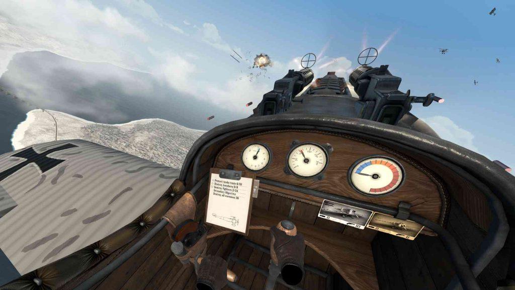 Oculus Quest 游戏《Warplanes: WW1 Fighters》战机大战插图(2)