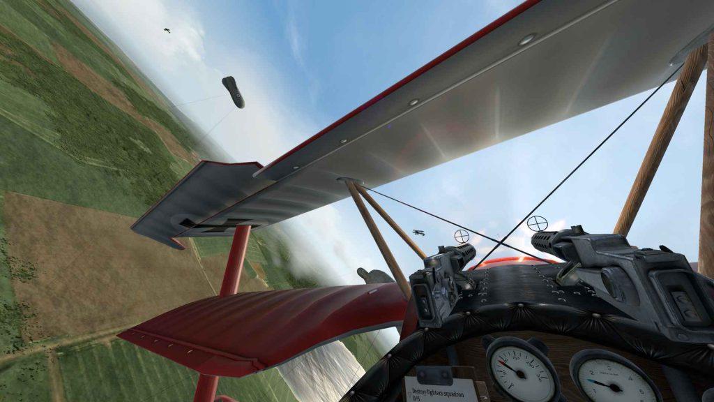 Oculus Quest 游戏《Warplanes: WW1 Fighters》战机大战插图(3)