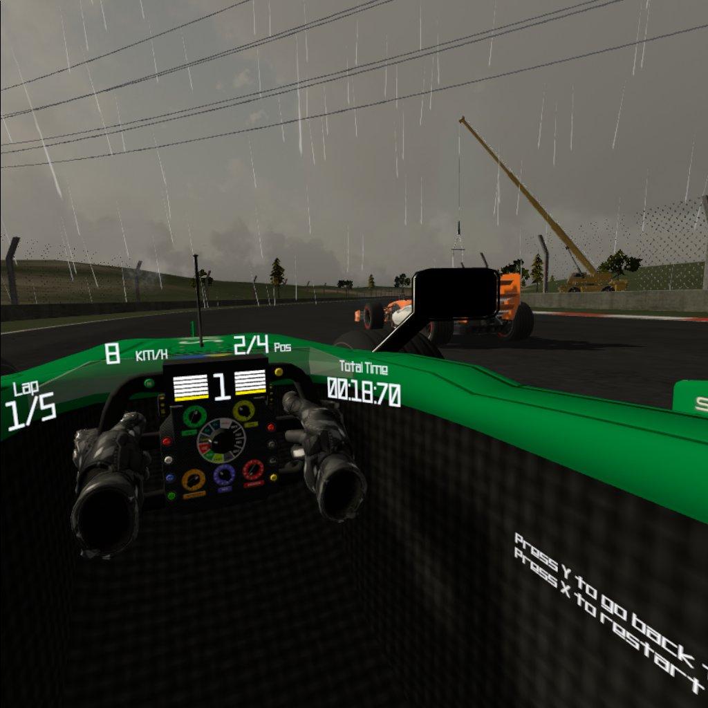 Oculus Quest 游戏《Fast Formula》超速方程式插图(2)