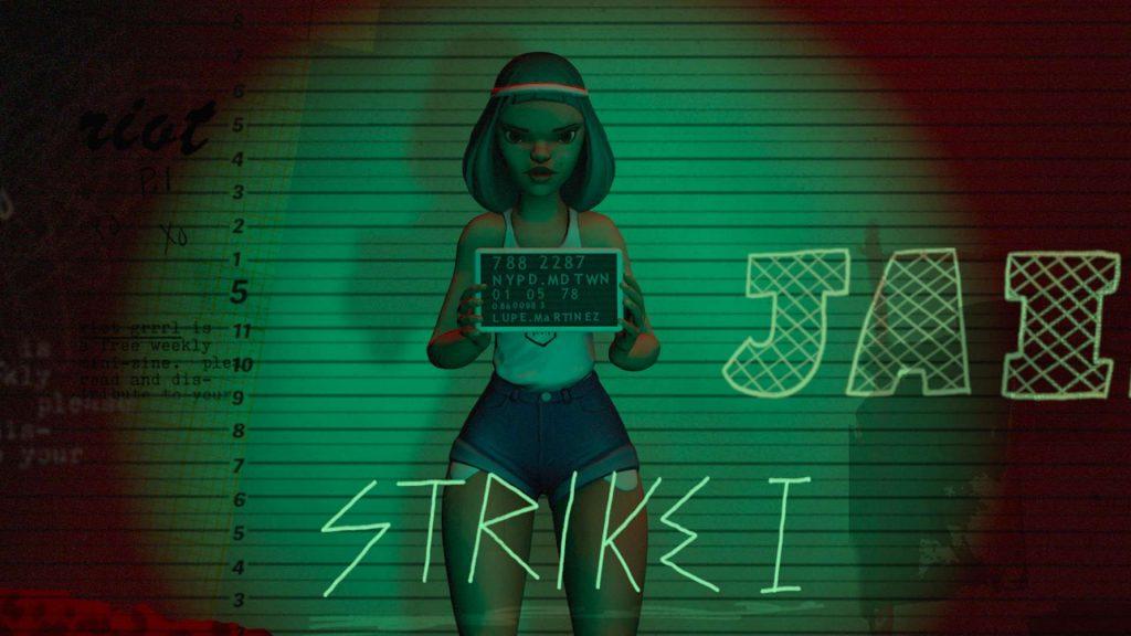 Oculus Quest 动漫《BATTLESCAR: Punk Was Invented By Girls》纽约摇滚插图