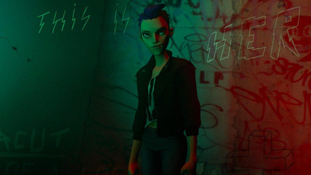 Oculus Quest 动漫《BATTLESCAR: Punk Was Invented By Girls》纽约摇滚插图(2)