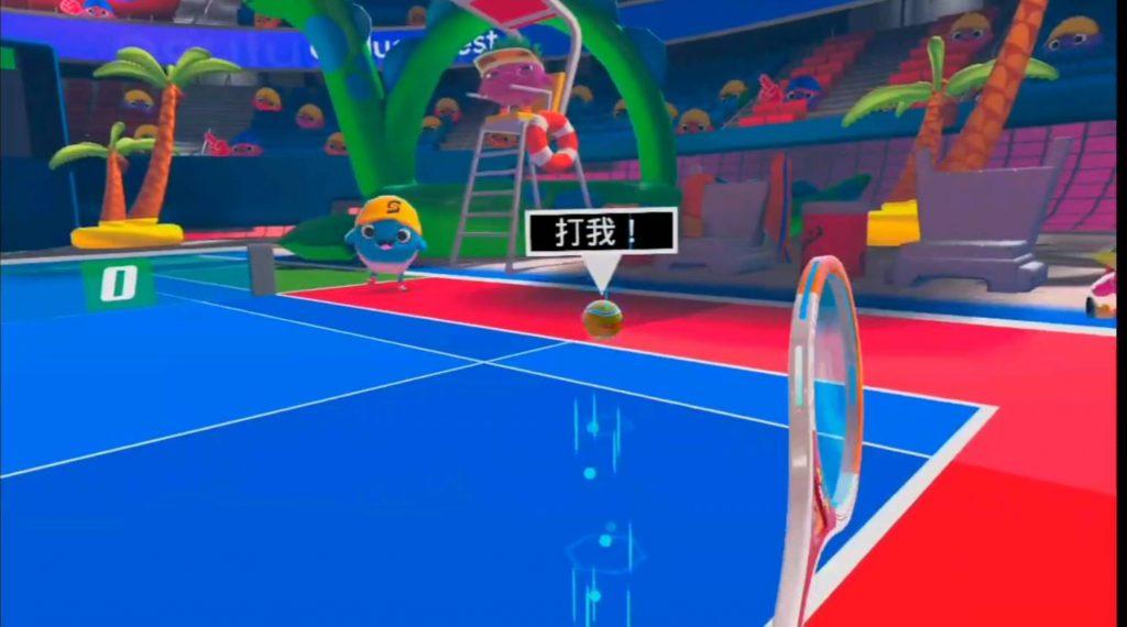 Oculus Quest 游戏《Sports Scramble 汉化中文版》体育争夺战~网球拍插图(1)