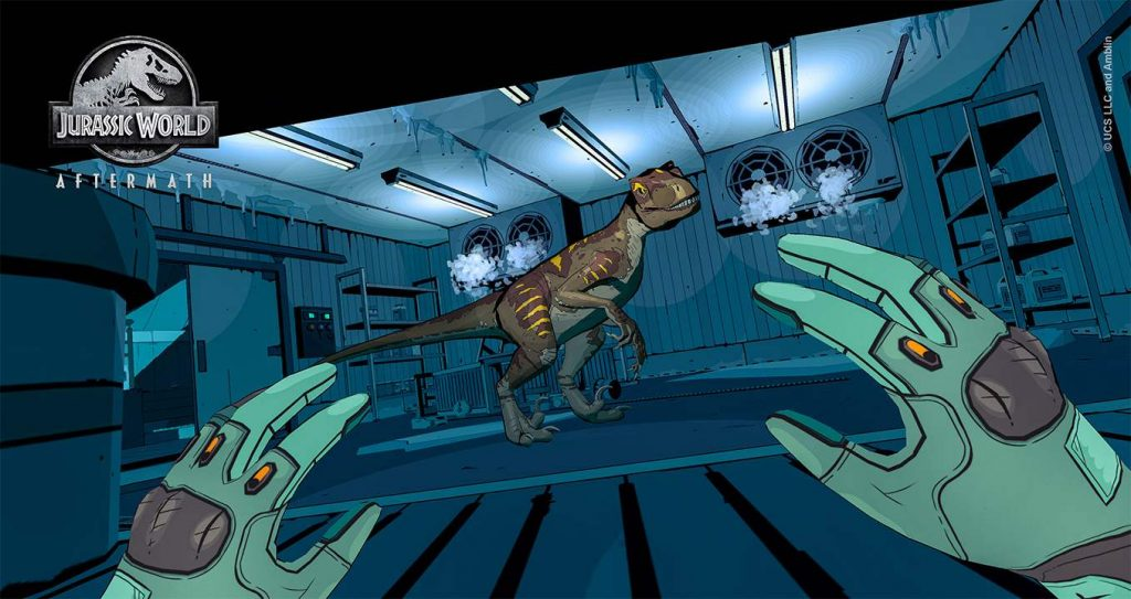 Oculus Quest 游戏《Jurassic World Aftermath》侏罗纪世界插图
