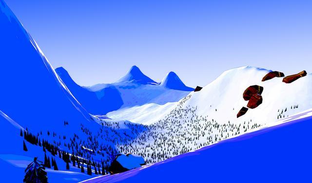 Oculus Quest 游戏《Descent Alps》阿尔卑斯山滑雪插图