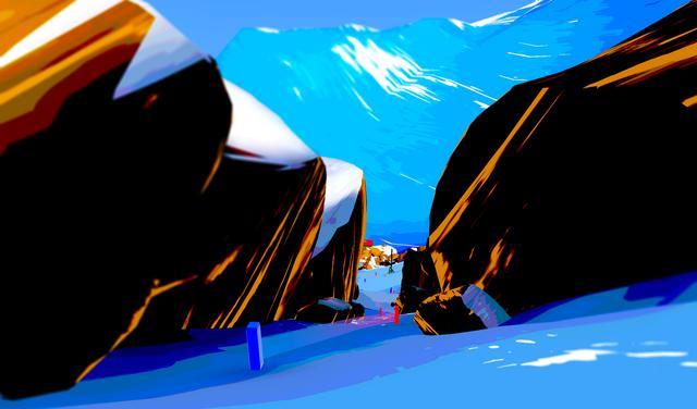 Oculus Quest 游戏《Descent Alps》阿尔卑斯山滑雪插图(2)