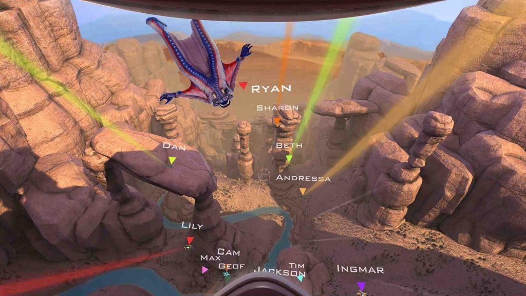 Oculus Quest 游戏《Rush VR》滑翔插图
