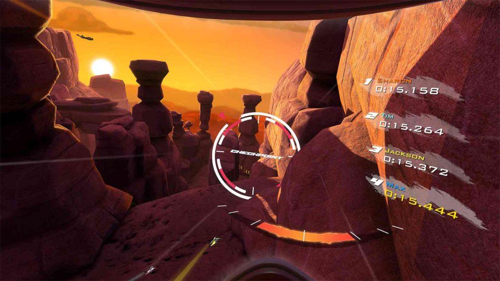 Oculus Quest 游戏《Rush VR》滑翔插图(2)