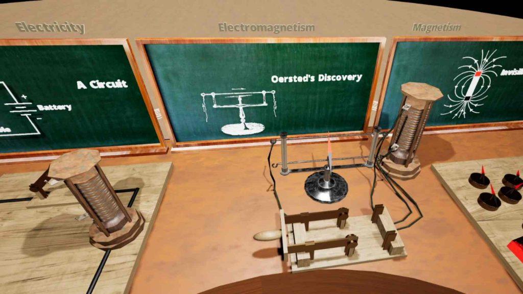 Oculus Quest 教育《ScienceVR Faraday》磁铁实验插图