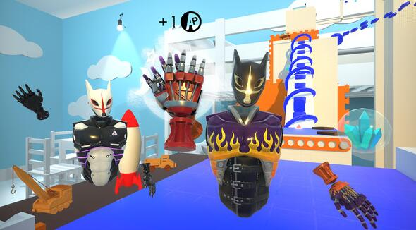 Oculus Quest版 TO THE TOP 顶点(攀爬攀岩类型游戏)